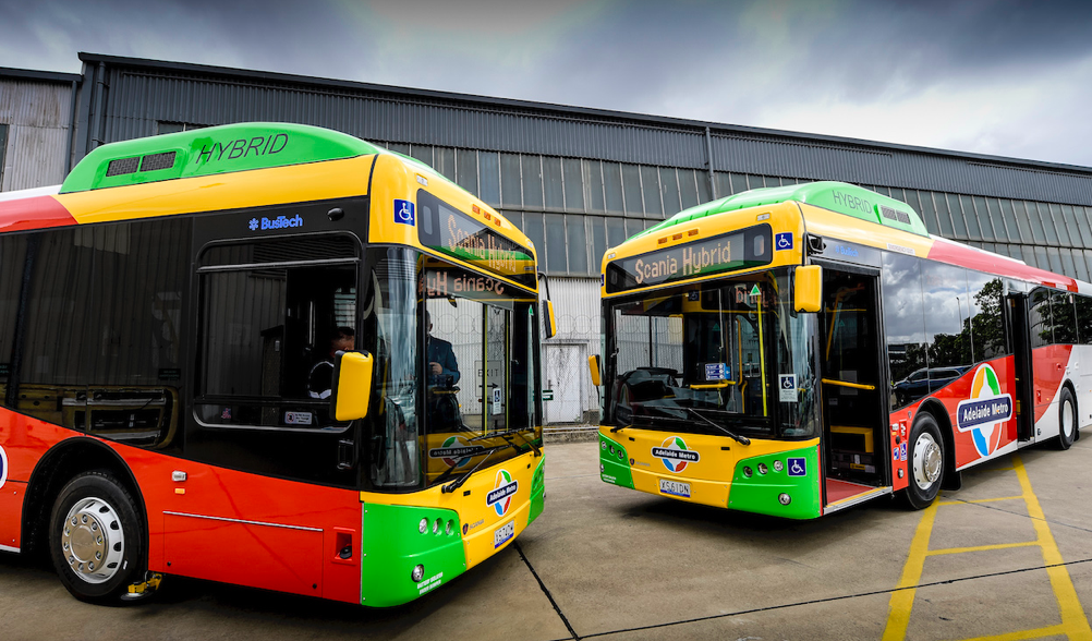 Bus Tech hybrid buses