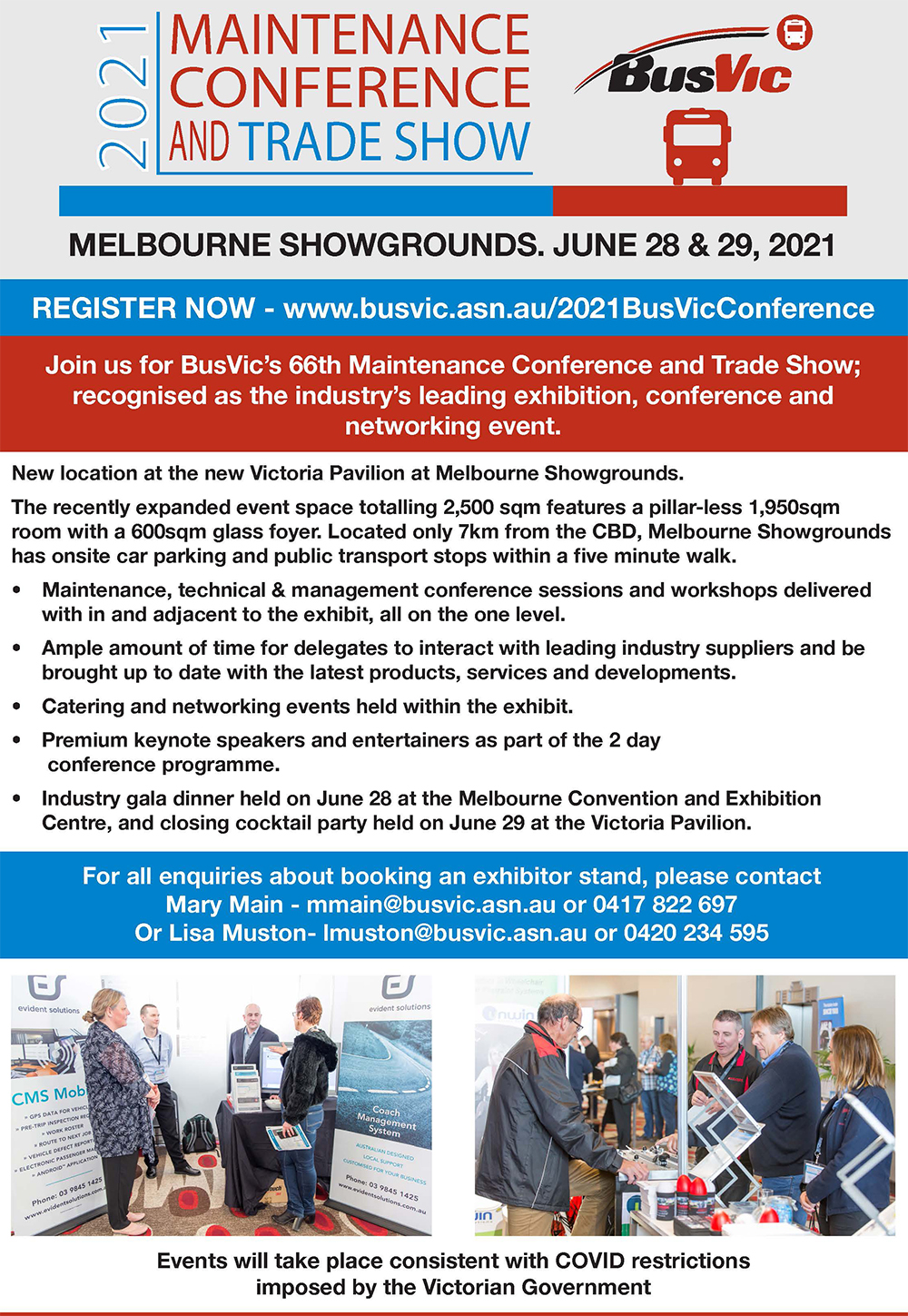 BusVic Conference Flyer 2021