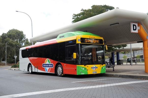 Scania hybrid Adelaide Metro